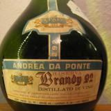 Brandy, RISERVA ANDREA DA PONTE italy, gr 42 cl 75 ani 50 - Cognac