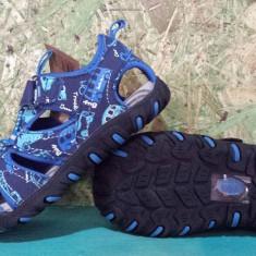 Sandale pentru baieti, cu varf din cauciuc, albastru, 24.25.26.27.28.29 - Sandale copii