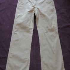 Pantaloni dama MARELLA by MAX MARA, mas. 40, Culoare: Bej, Lungi, Bumbac