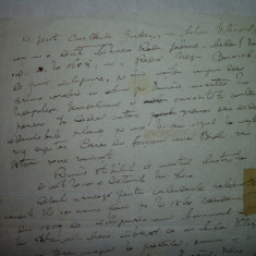NICOLAE IORGA, FILA MANUSCRIS - Autograf