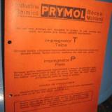 Colectii - Reclama veche carton 1940 PRYMOL-Crema Impregnator piele.