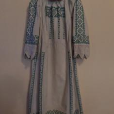 Costum popular - CAMASA POPULARA CU POALE DIN BANATUL DE MUNTE