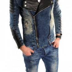 Geaca barbati - Geaca de blugi tip ZARA - geaca slim fit - geaca fashion LICHIDARE DE STOC 6032