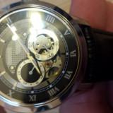 Ceas barbatesc Bulova, Lux - sport, Mecanic-Automatic, Inox, Piele, Cronograf