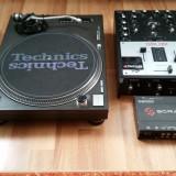 Instrumente muzicale - Vand pick-up Techinics SL1210 Mk2 mixer Ecler HAK380 si Serato SL1