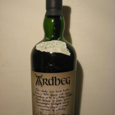 Whisky ardbeg, distilled 1976, bottled 1999, cl 70 gr 56 sticla 93/497 sticle
