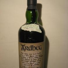 Whisky ardbeg, distilled 1976, bottled 1999, cl 70 gr 56 sticla 93/497 sticle