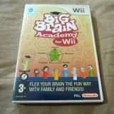 Joc Big Brain Academy,  Wii, original, alte sute de jocuri!