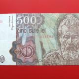 ROMANIA - 500 Lei / aprilie 1991, An: 1991