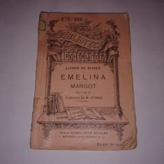 ALFRED DE MUSSET - EMELINA \ MARGOT nuvele ~ BPT nr.879 - 880 ~ Ed.veche - Carte veche