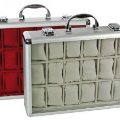 Aluminium valiza SAFE pentru 18 ceasure - Cutie Ceas
