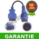 Cablu adaptor IVECO Daily 38 Pini - Functioneaza perfect cu AutoCom si Delphi