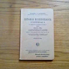 ISTORIE BISERICEASCA UNIVERSALA - D. Georgescu - 1935, 216 p.