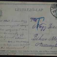 CP Oradea 1916 - nr 2 - Carte Postala Crisana 1904-1918, Circulata, Printata