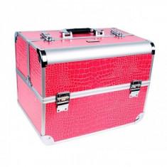 Geanta cosmetice - Geanta Manichiura Model Mare - Pink