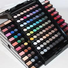 Trusa Machiaj 130 culori cu blush, concealer si ruj Meis Premium Make Up Palette - Trusa make up