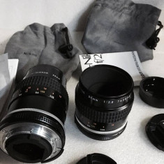 Vand obiectiv Micro-NIKON 55mm 2.8 AI S ca si noi - Obiectiv DSLR Nikon, Macro (1:1), Manual focus