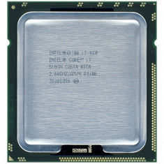 Procesor Intel Core i7-920 2.66GHZ 8MB cache socket FCLGA1366 (BO) - Procesor PC Intel, Numar nuclee: 4, 2.5-3.0 GHz