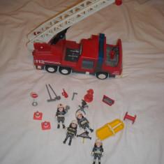 Playmobil City - Masina de pompieri - Masinuta de jucarie Playmobil, Plastic