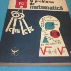 GRIGORE GHEBA CULEGERE EXERCITII SI PROBLEME DE MATEMATICA CLASELE V-IX - Culegere Matematica