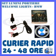 Logo Marca ZDM - SET 2 x LUMINI LOGO LASER BMW GENERATIA 6 (12V, CAMION 24V) - LED CREE 7W