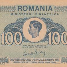 ROMANIA 100 lei 1945 XF!!!, An: 1945