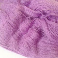Ata - Fir de tricotat sau crosetat, tip mohair cu acril si lana, lila moviu superb