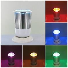 GU10 RGB 5 Watt LED Downlight with IR Remote Control 06147