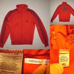Bluza Adidas Originals (42) rosu casual sport retro vintage - Bluza barbati