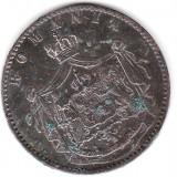 ROMANIA  5 BANI 1867 WATT STARE BUNA