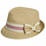 Best price 7878460 - Palarie Betmar Joanne Braided Trilby Natural - Palarie Dama
