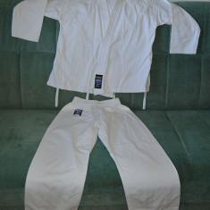 Kimono (gy, Ghi) de Karate / judo, Dan RHO Dojo Line, bumbac, marime 00/130