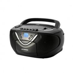 Combina audio - Hyundai radio/CD Player Boombox TRC718AU3, negru
