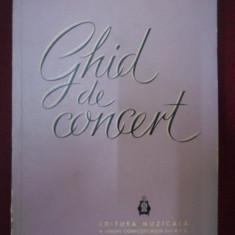 Eugen Pricope - Ghid de concert - 471848 - Carte Arta muzicala