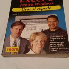 EXCEL 5, pentru Windows, manual de utilizare - Carte Microsoft Office
