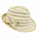 Best price 7878499 - Palarie Betmar Isabel Braided Fedora Natural - Palarie Dama