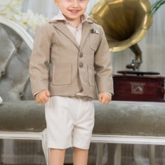 "Trusou botez - Costum botez ""Nick"" (Imbracaminte pentru varsta: 2 ani - 92 cm)"