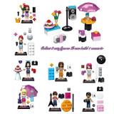 Set minifigurine tip LEGO Friends Mia Olivia Stephanie Andrea Emma Matthew Noah - Jocuri Seturi constructie