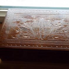 Veche cutie lemn - Cutie Bijuterii