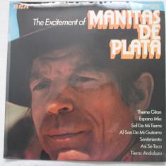 Manitas De Plata – The Excitement Of Manitas De Plata _ vinyl(LP) UK - Muzica Rock rca records, VINIL