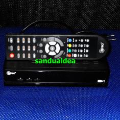 RECEIVER/DECODOR cablu digi/rcs rds HD HDMI/usb si media player cu inregistrare!