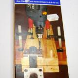 Matrita tamplarie pentru realizarea imbinarilor cu cep lemn