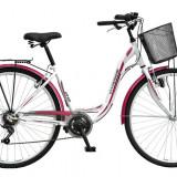 Bicicleta de oras DHS - Bicicleta oras Citadinne 2834 - model 2015 28'-Negru-500 mm - OLN-ONL8-21528340000|Negru|Cadru 500 mm