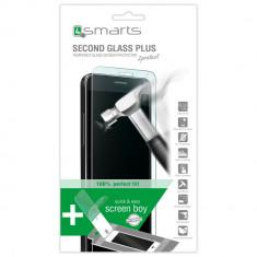 Folie de protectie - Folie Sticla Ecran Antisoc Samsung S6 4smarts Second Glass PLUS Blister