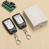 Scule/Unelte - DC 12V 4CH 200M Wireless Remote Control Relay Switch 2 Transceiver + 1 Receiver