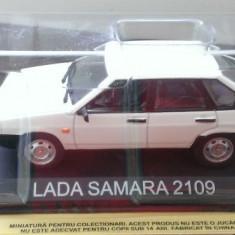 Macheta metal DeAgostini Lada Samara 2109 SIGILATA+revista Masini de Legenda 22 - Macheta auto, 1:43