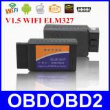Interfata diagnoza auto - Interfata Diagnoza Universala Elm327 Wi-Fi OBDII OBD2 v1.5, Android sau IOS