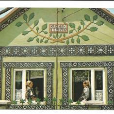@carte postala(ilustrata)-SIEU-SFANTU -Bistrita Nasaud- Casa taraneasca, Necirculata, Fotografie