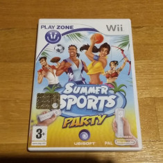 Jocuri WII Ubisoft, Sporturi, 3+, Multiplayer - Wii Summer sports party - joc original PAL by WADDER