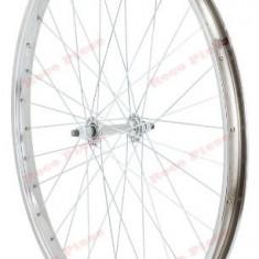 Roata bicicleta 26 inch fata (janta simpla)